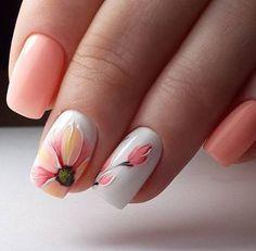10 Gorgeous Floral Wedding Nails