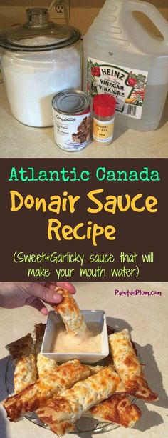 How to Make Donair Sauce - Donair Sauce Recipe from Atlantic Canada(Hamburger Recipes) Donair Sauce, Marinade Sauce, Donair Meat Recipe, Sauce Recipes, Cooking Recipes, Pork Recipes, Vegetarian Recipes, Canadian Food, Canadian Recipes