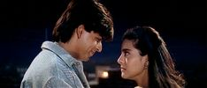 Shah Rukh Khan and Kajol in DDLJ (1995) | Why Dilwale Dulhania Le Jayenge Continues to Spread Its Magic #19EvergreenYearsOfDDLJ Falling In Love With Bollywood http://www.fallinginlovewithbollywood.com/2014/10/why-dilwale-dulhania-le-jayenge-continues-to-spread-its-magic.html