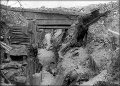 World War 1 Great facts and picture of a trench.  Weeks 14-15