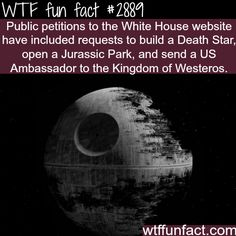 Best and weirdest petitions to the white house -WTF fun facts
