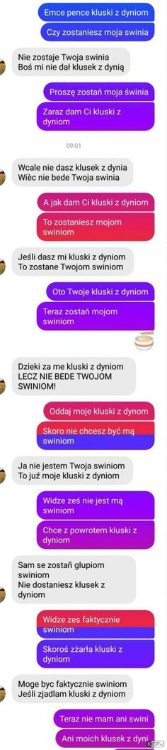 Heh takie się prowadzi rozmowy i jaki jest z tego morał? Funny Sms, Funny Text Messages, Wtf Funny, Funny Texts, Funny Jokes, Funny Cute, Weekend Humor, Dark Humour Memes, I Cant Even