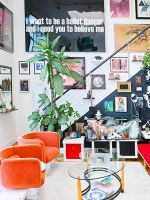 These Airbnbs Are SO Cool  #refinery29  http://www.refinery29.com/cool-san-francisco-summer-airbnb-rentals#slide-4  Potrero Hill Garden CabanaLocation: Potrero HillRate: $190 a nightThis global-inspired cabana in the heart of San Francisco is giving us major vacation vibes. The tropical hues, stringed lights, and vivid textiles make this one-bedroom bungalow a unique escape. The room opens up to a patio and comes equipped with a small kitchen and bathroom.