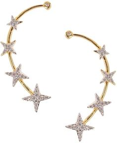 #BuyFromLink --> http://fkrt.it/ZGjmQuuuuN Zeneme American Diamond Alloy Cuff Earring #EarCuff #Earring #Indianfashion #Gorgeous #look #style  #Shop #Buy #online #india #review--> The build quality is fair, Shining and smooth edges with beautiful Stars on it but it does not have the Tip-Top method the Earring works on a hair clip method which might broke during Wearing and Vice-Versa.