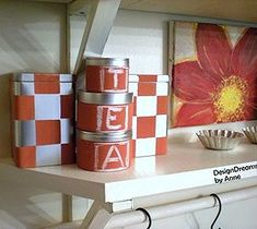 Best DIY Projects For Home Decorating: Stylized Storage Containers for the Kitchen
