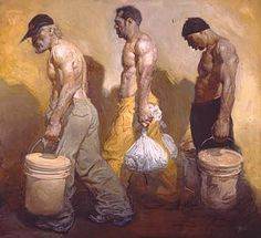 A Hard Day's Work by Steve Huston - Art Curator & Art Adviser. I am targeting the most exceptional art! Catalog @ http://www.BusaccaGallery.com