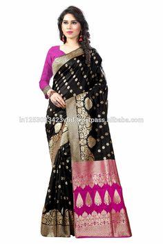 b950fc6de7 Sathiya Banarasi Silk cotton Woven Designer Saree for Women, Suit in Every  Occasion 7