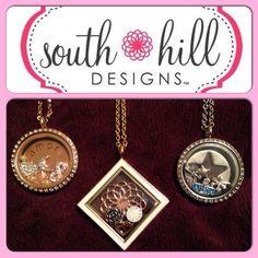 Love my south hill designs lockets