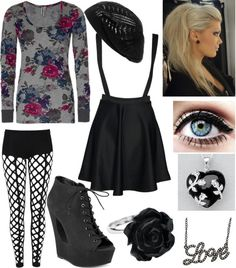 """""""Untitled #199"""" by mydeadlydreams ❤ liked on Polyvore"""
