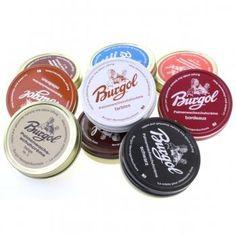 Burgol Palmenwachs Schuhcreme 75ml (EUR 14,53 / 100 ml), in vielen Farben lieferbar Burgol, http://www.amazon.de/gp/product/B0088I7K86/ref=cm_sw_r_pi_alp_-4.Frb1QYG4G5