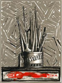 Jasper Johns's 'Savarin' Oslo, Museum Of Fine Arts, Art Museum, New Orleans Museums, Jasper Johns, Savarin, Edvard Munch, Art Institute Of Chicago, Art Pop