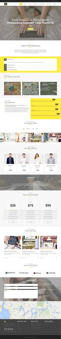 XL is a Creative Multipurpose Responsive #WordPress Theme. This is a child theme of #LayersWP. #webdesign