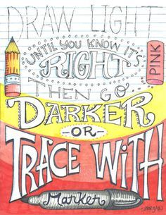 Trace with Marker Colored Poster by The Lost Sock Art Teacher Art Classroom Posters, Art Classroom Decor, Art Room Posters, Classroom Organization, Classroom Ideas, Teacher Posters, Middle School Art, Art School, School Stuff