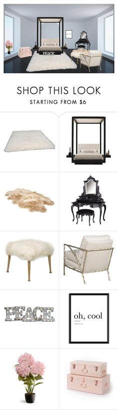 """Untitled #1694"" by mihai-theodora ❤ liked on Polyvore featuring interior, interiors, interior design, home, home decor, interior decorating, nuLOOM, UGG, Grandin Road and National Tree Company"