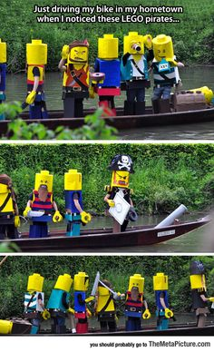 Funny+Pictures:+LEGO+Pirates+On+A+Mission
