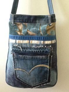 Tas van spijkerbroek achterkant
