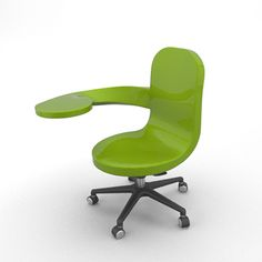 Interesting furniture suited for collaboration, customization and laptops