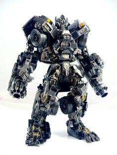 Custom Transformers: Ironhide V3 by TB-Production
