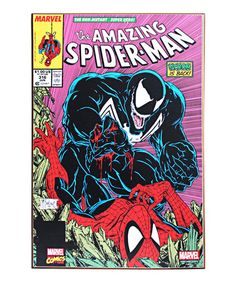 Love this Marvel The Amazing Spider-Man #316 Cover Wood Wall Art on #zulily! #zulilyfinds