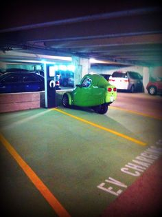 Our GREEN guest at Park Central's EV charging station in Dallas, TX. http://www.parkcentral789.com/