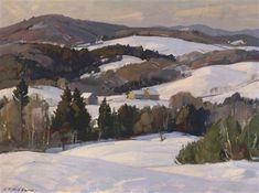 View Winter in the valley by Aldro Thompson Hibbard on artnet. Browse upcoming and past auction lots by Aldro Thompson Hibbard. Oil Painting On Canvas, Canvas Art, Acrylic Paintings, Winter Trees, Winter Art, Winter Snow, Sunrise Painting, World Famous Artists, Snow Art