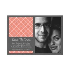 Idea for Save The Date announcement