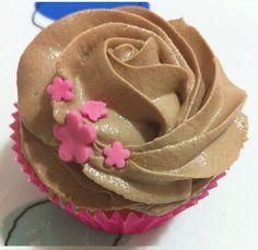 Receta de cupcakes de chocolate.