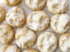 Almond Cloud Cookies. King Arthur Flour.