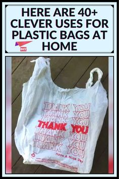 Diy Home Cleaning, Household Cleaning Tips, Cleaning Hacks, Simple Life Hacks, Useful Life Hacks, 1000 Life Hacks, Diy Recycle, Plastic Bags, Plastic Bottle
