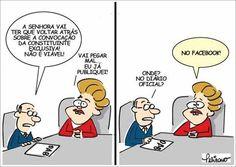 Dilma convoca pelo Facebook Constituinte