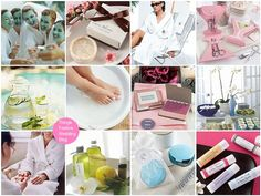 Spa Themed Bridal Shower | still waiting to be invited to such a shower!! Bliss!!