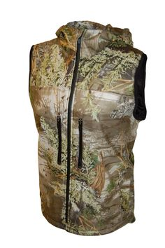 645de2f5a5c Available in Realtree Max-1 This women s camo vest by Prois is a natural go