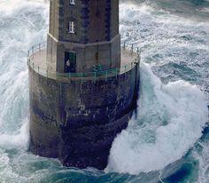 Théodore Malgorn, La Jument's #Lighthouse keeper. 21st December 1989, photo by…    http://dennisharper.lnf.com/