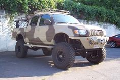 5 Menacing Bug Out Vehicle (Drive Out Of Disaster Zone) Toyota 4x4, Toyota Trucks, Toyota 4runner, 4x4 Trucks, Toyota Tacoma, Cool Trucks, Overland 4runner, Overland Truck, Trophy Truck