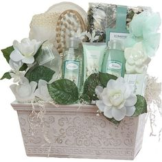 $79.99 Jasmine Renewal Spa Relaxing Bath and Body Gift Set - LARGE - Great Gift For Her!  From Art of Appreciation Gift Baskets   Get it here: http://astore.amazon.com/ffiilliipp-20/detail/B000YHDJP2/186-7446648-3792357