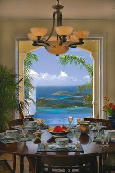 Breakfast with a View / U.S. Virgin Islands