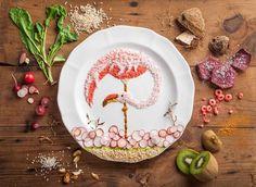 Une artiste audacieuse fait de l'art avec des aliments. Une technique à la fois complexe et appétissante, qui permet à sa créatrice de réaliser des oeuvres minutieuses. SooCurious vous présente une série de ses confections.Anna Keville Joy...