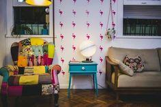 Você pode imprimir desenhos em adesivos e estampar sua parede.   20 dicas para decorar sua casa em 2016 gastando quase nada