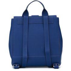 Kenzo 'Kalifornia' backpack ($695) ❤ liked on Polyvore featuring bags, backpacks, knapsack bags, top handle bag, backpacks bags, blue backpack and rucksack bag