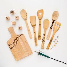 Trend Alert Deco: utensilios de cocina personalizados #trendalert #deco #decor #kitchenware #cocina