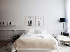 love the luxe touches + soft palette of this bedroom... The-Apartment-NYC-Fonte