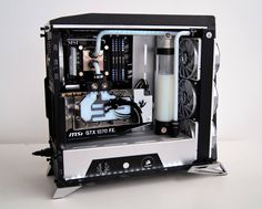 This week for Case Mod Friday we have a build from George Poteca out of Romania.  The build is done inside of the Corsair Carbide SPEC-Alpha and he has split the case like many modders have done with this case.  He has also angled the graphics card in a way I don't believe we've seen before.  Be sure to check this build out!