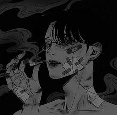 Manga Anime, Manga Art, Anime Art, Cute Anime Boy, Anime Guys, Aesthetic Art, Aesthetic Anime, Dark Fantasy, Fantasy Art