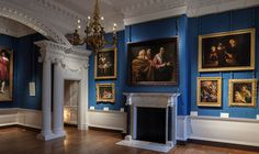 Discover masterpieces by Rembrandt, Caravaggio, van Dyck, and more at the Cumberland Art Gallery at Hampton Court Palace. Artwork Lighting, Royal Art, London Attractions, The Royal Collection, Royal Residence, Hampton Court, Royal Palace, Beautiful Buildings, The Hamptons