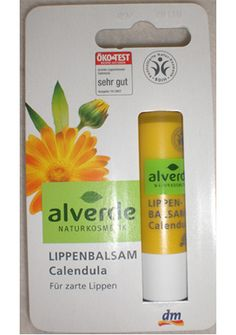 Alverde Calendula lip balm - natural and affordable