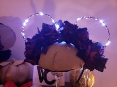 Your place to buy and sell all things handmade Disney Halloween Ears, Scary Halloween, Dim Lighting, Can Lights, Haunted Mansion, Light Up, Red Roses, Creative, Etsy