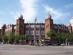 Plaza de Toros. La Monumental. Barcelona, Spain.
