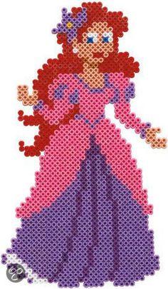 * Prinses van strijkkralen!
