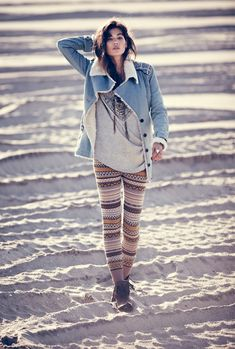 love the sweater leggings. Oh my unsung love for Free People!
