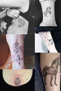 Inspiração: + de 40 ideias para tatuagem de unicórnio